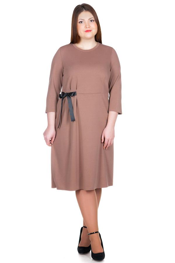 Платье БР Letizia Светло-коричневый