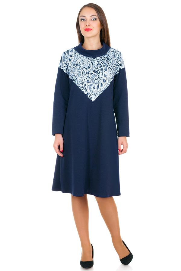 Платье БР Jennifer Огурцы+Темно-синий