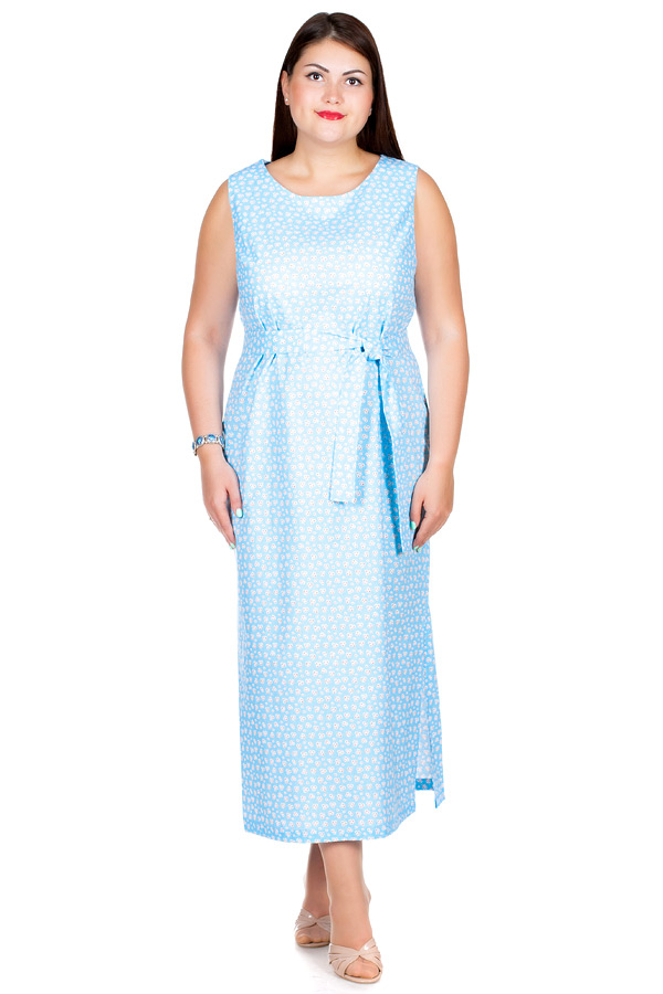 Сарафан БР Fritsvit Цветочки голубые