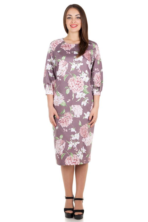 Платье БР Julietta Сиренево-коричневый