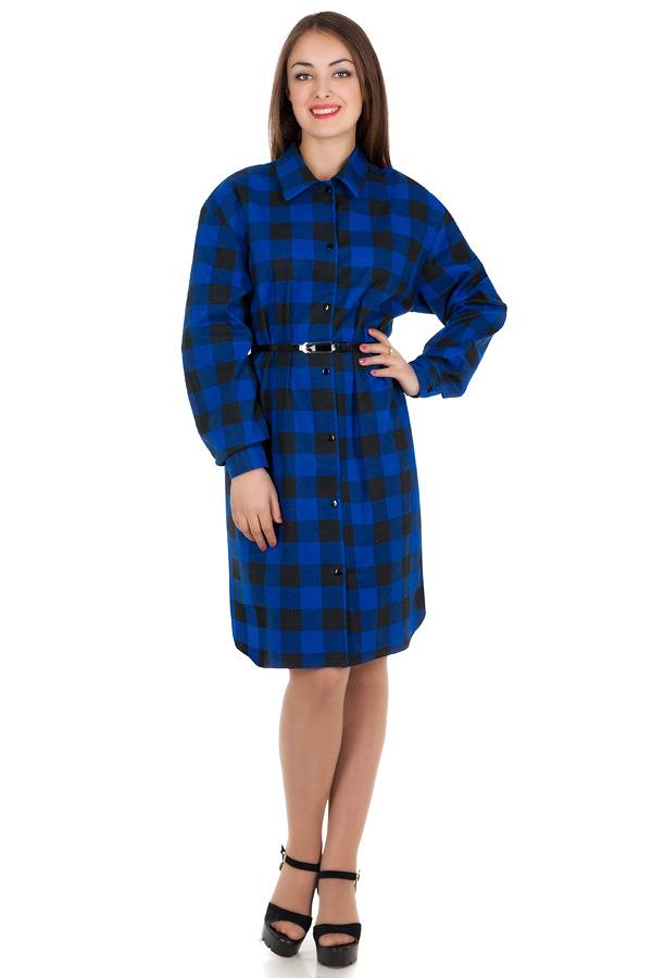 Платье БР Nora Темно-синий