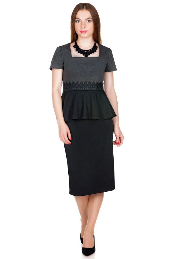 Платье МР Erica Серый