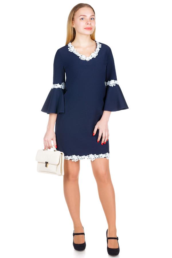 Платье МР Ecolia Темно-синий