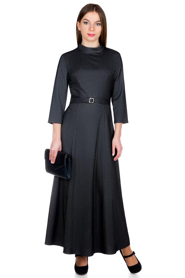 Платье МР Brida Темно-серый