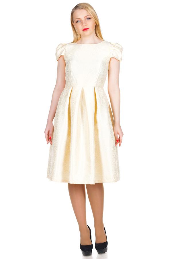 Платье МР Fabia Молочный
