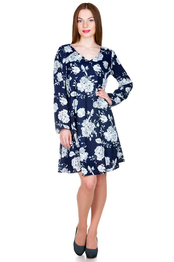 Платье МР Velia Темно-синий