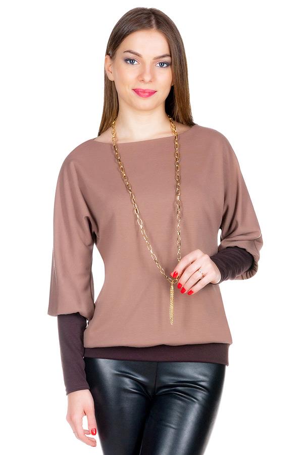 Блуза МР Rosvita Светло-коричневый