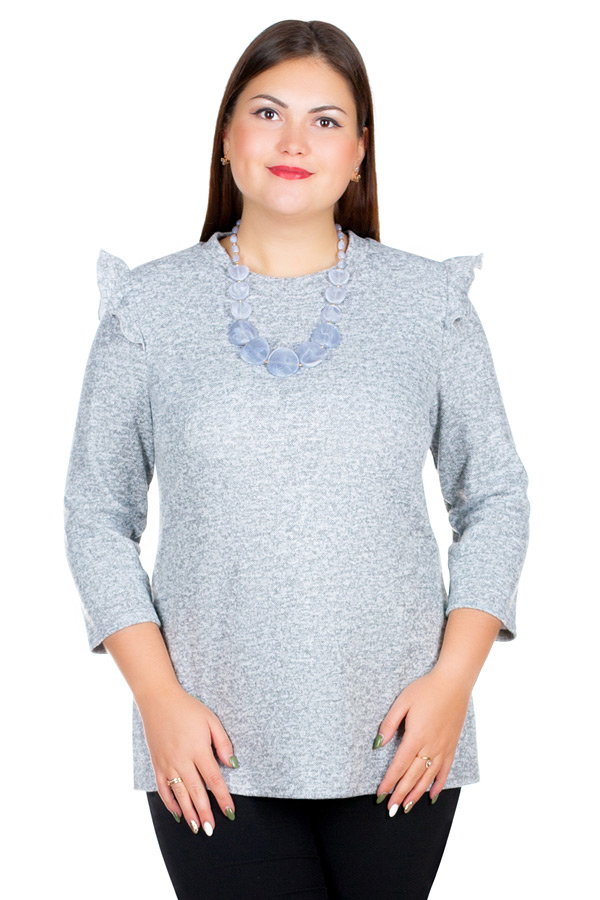 Блузка БР Vasilisa Светло-серый