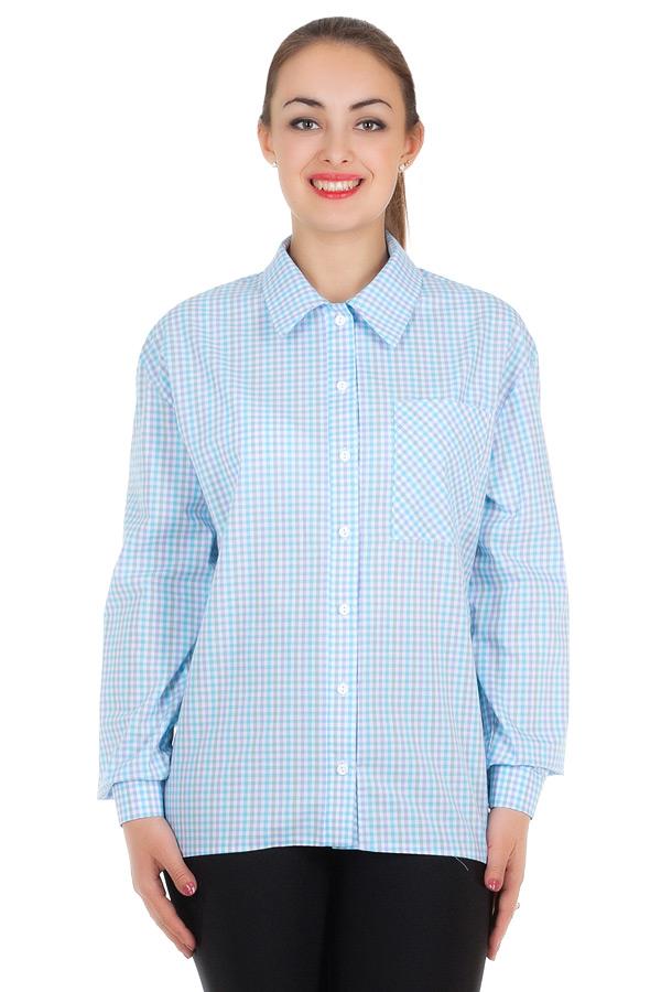 Рубашка БР Janett2 Голубой