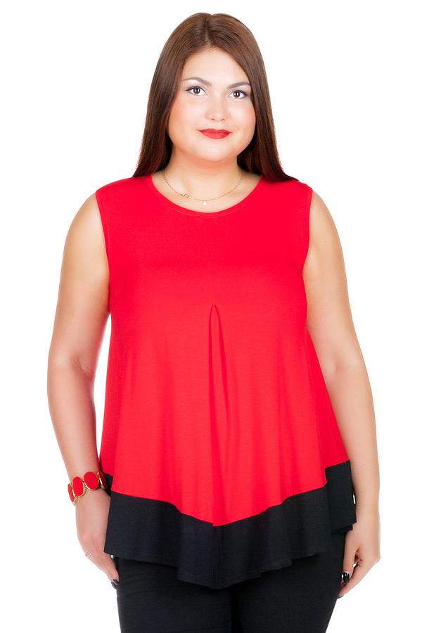 Блуза БР Vlada Красный
