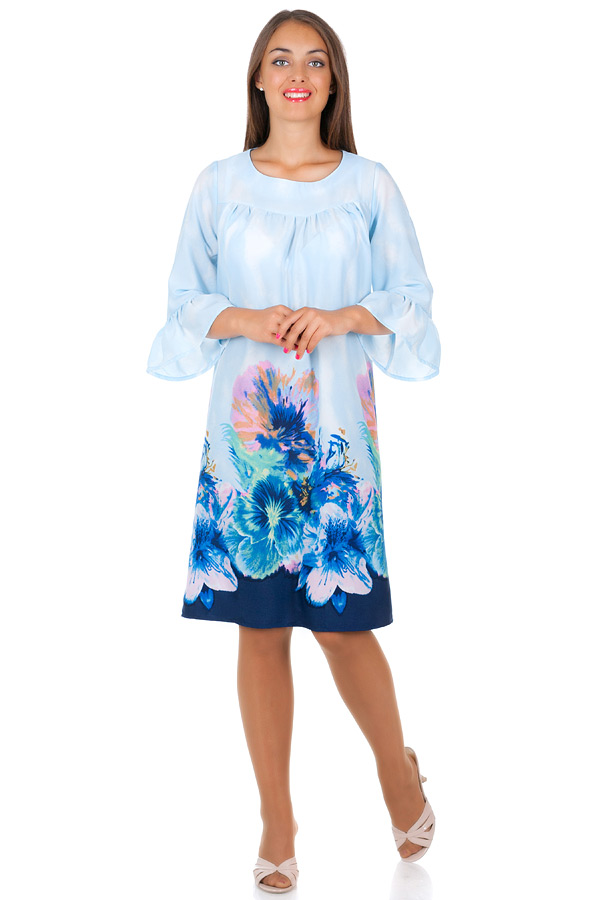 Платье БР Okeana Светло-голубой