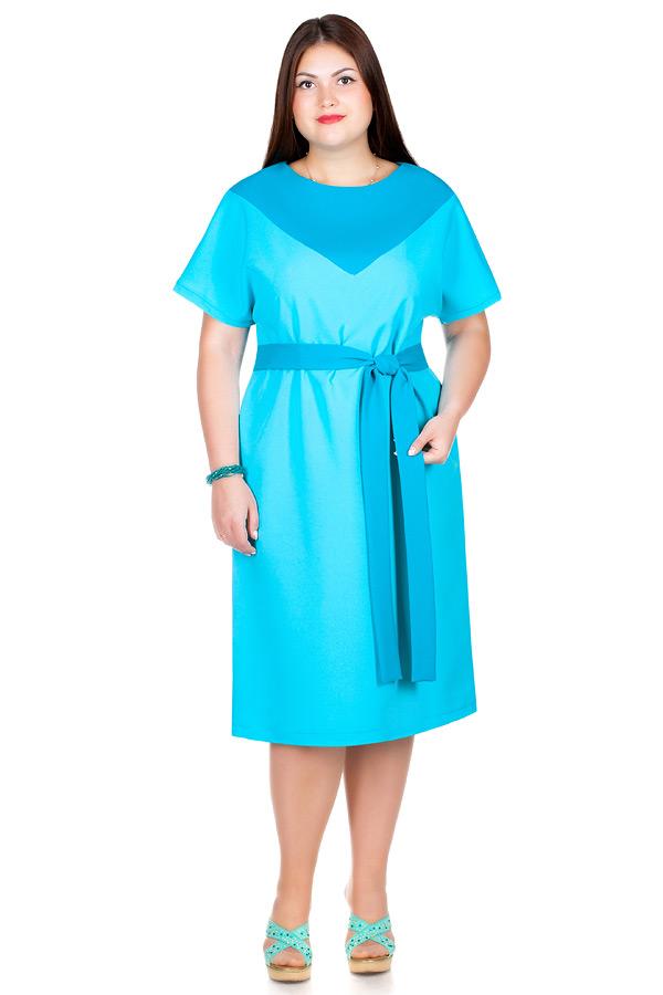 Платье БР Cora Бирюза