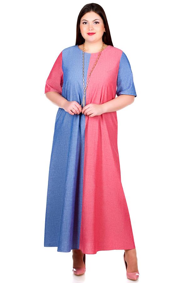 Платье БР Kena Красный+Синий