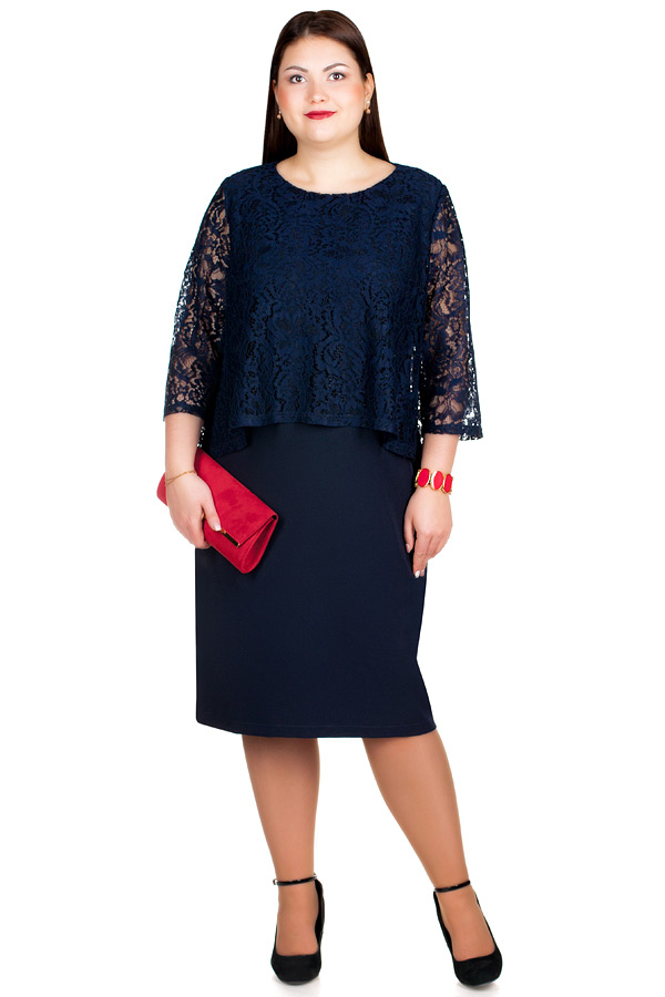 Платье БР Alexa Темно-синий