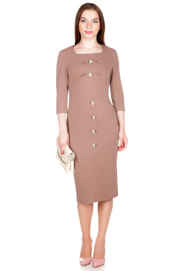 Платье МР Finola Светло-коричневый