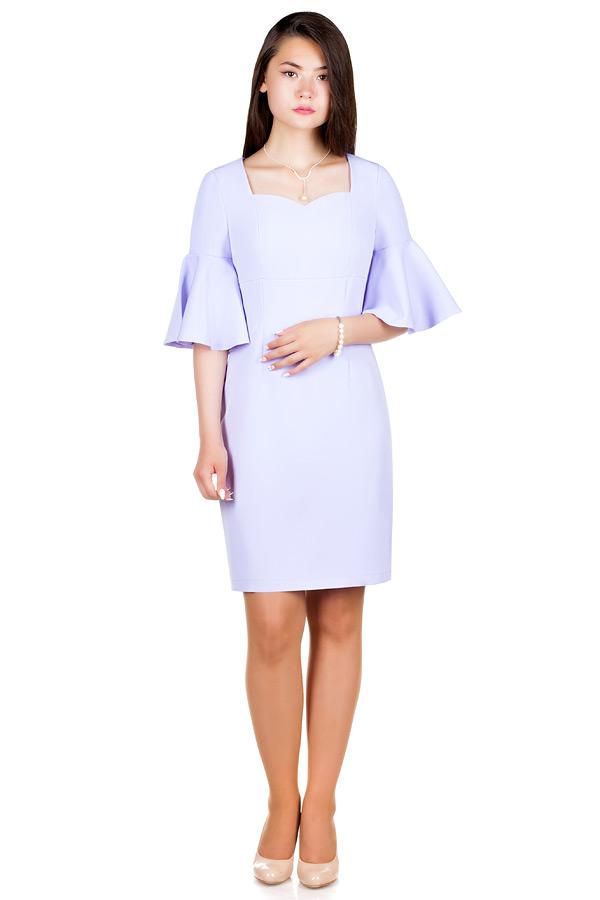 Платье МР Paolina Светло-сиреневый