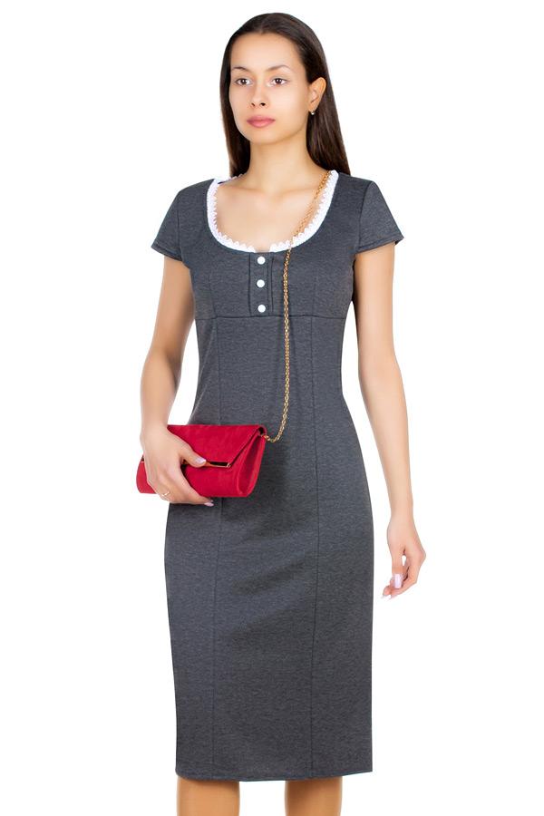Платье МР Beverli Серый