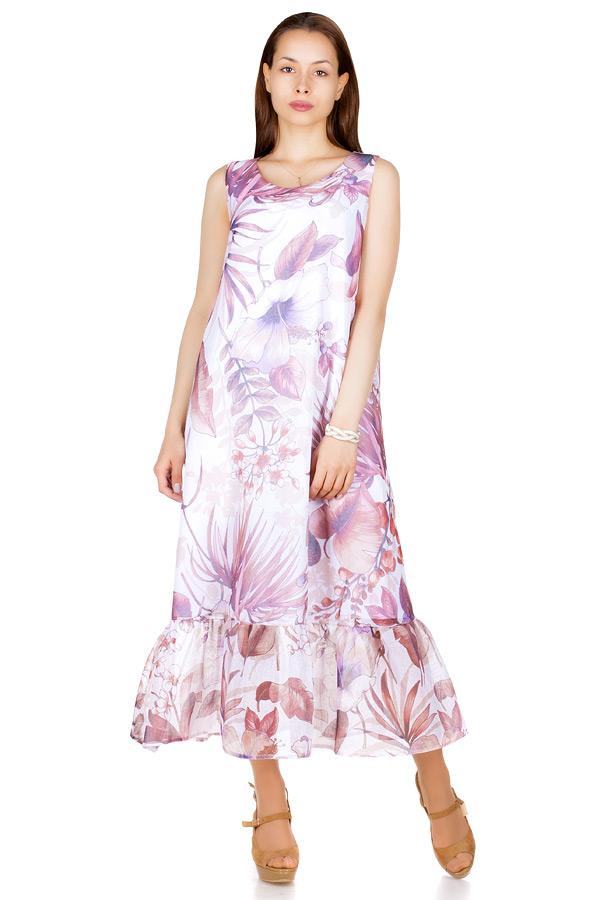 Платье МР Carlota Тропики фиолетовые