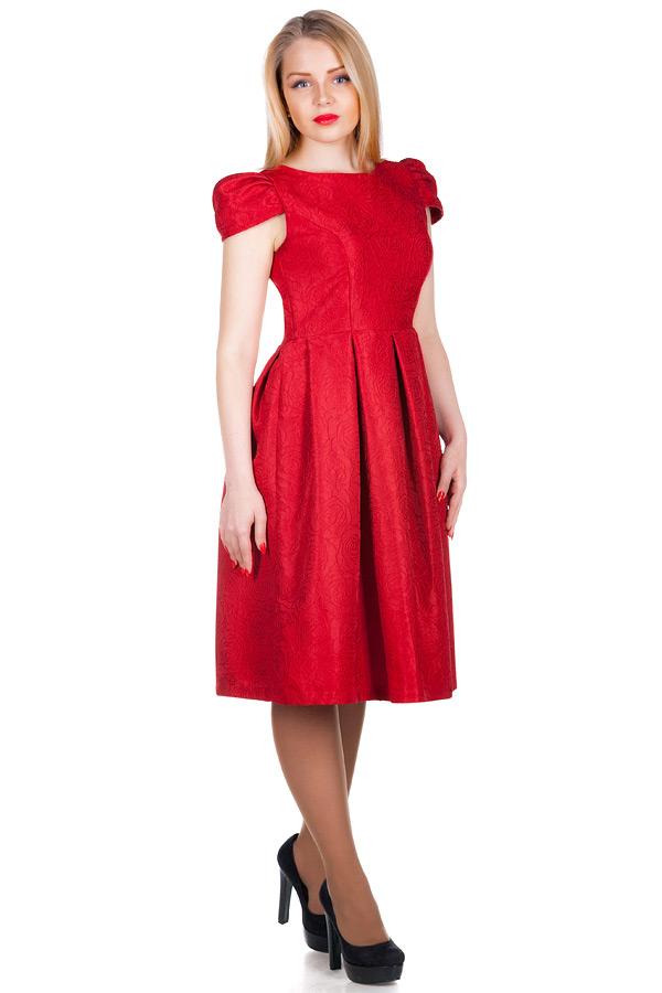 Платье МР Fabia Красный