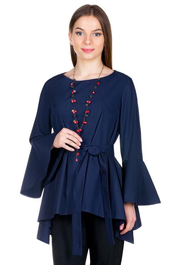 Блуза МР Joan Темно-синий