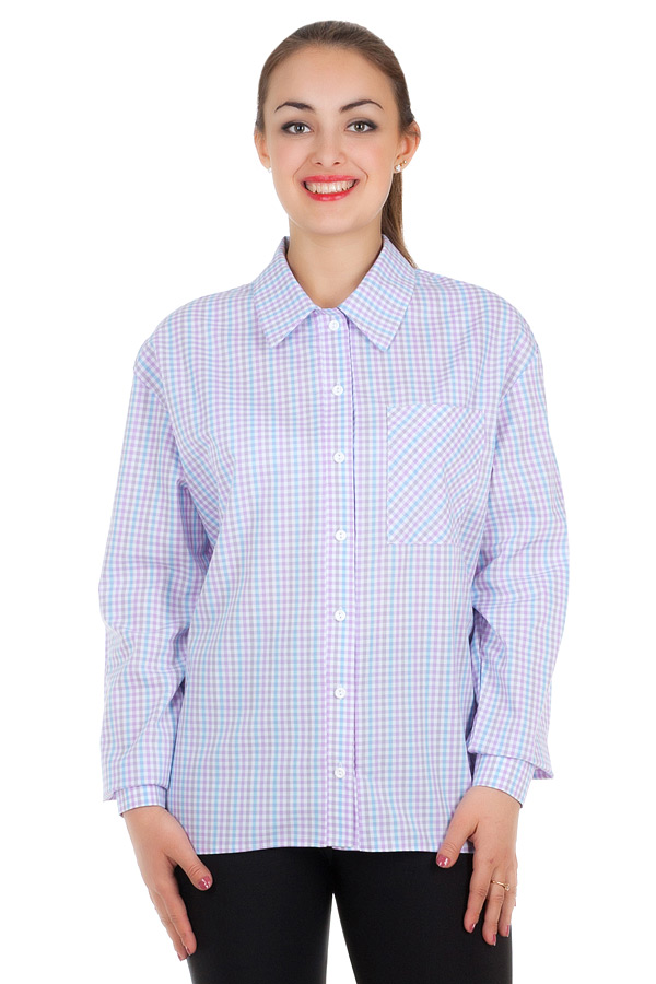 Рубашка БР Janett2 Фиолетовый