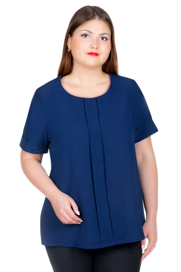 Блуза БР Ada Темно-Синий