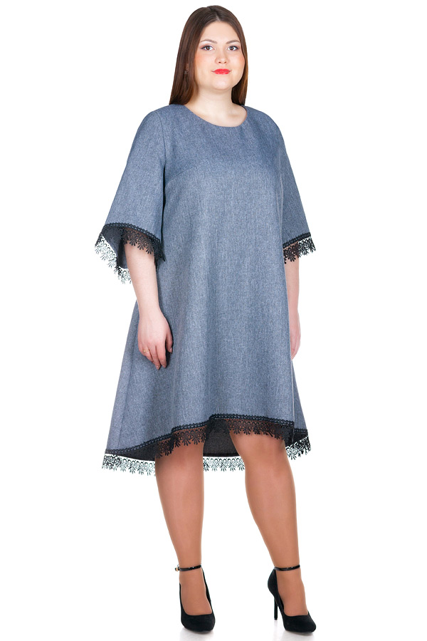 Платье БР Vita Серый