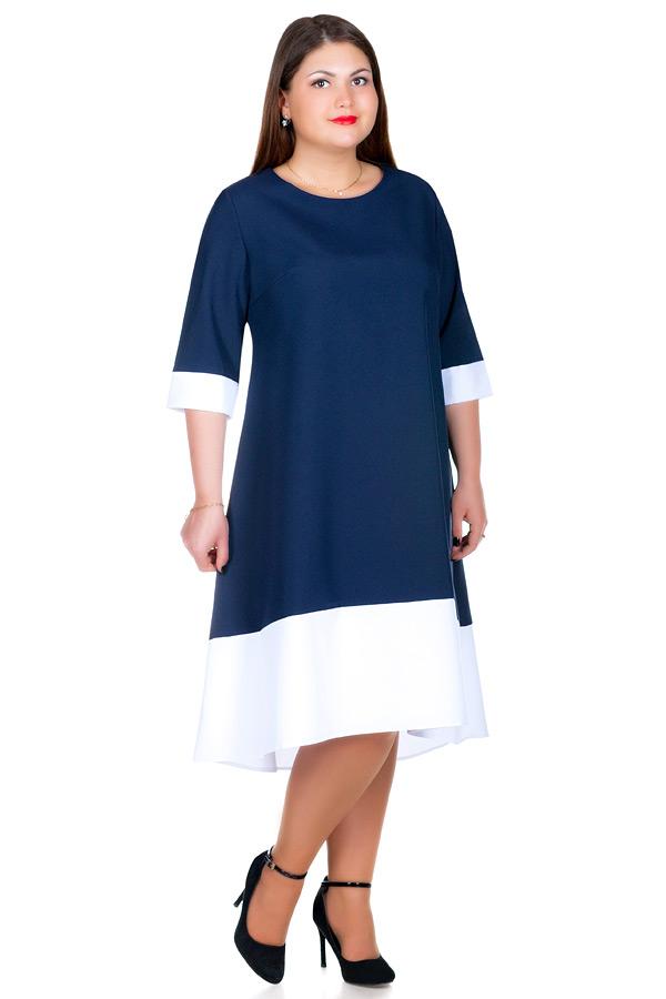 Платье БР Gera Темно-синий