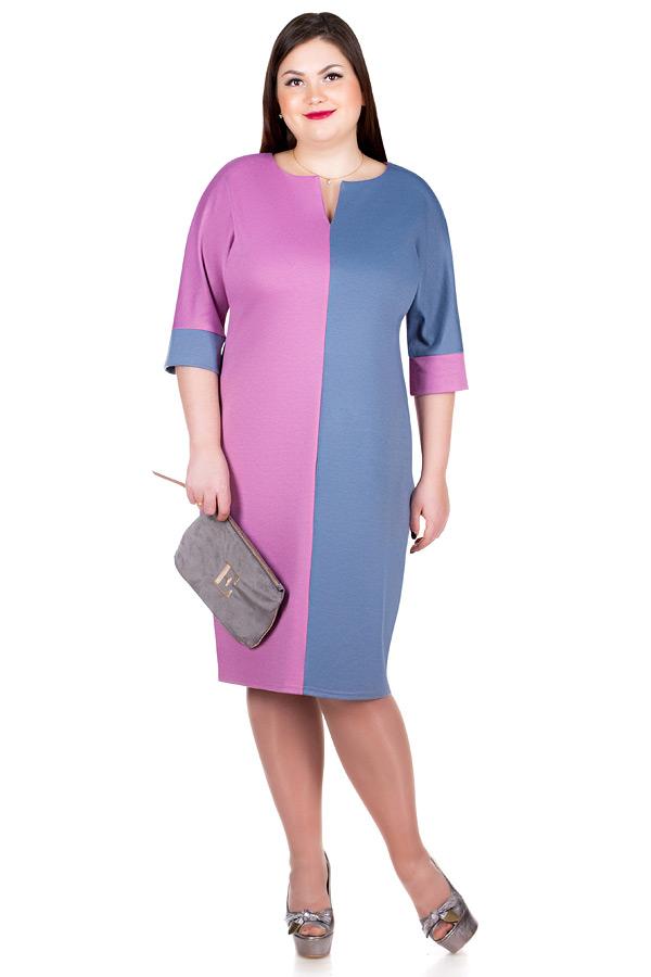 Платье БР Rostislava Серый+Розовый