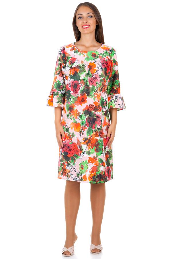 Платье БР Okeana Коралловые розы