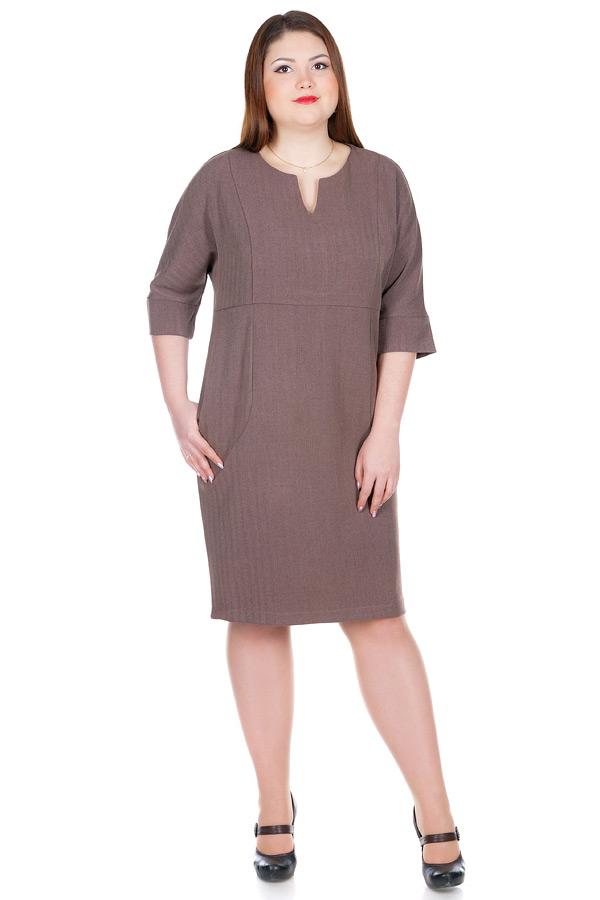 Платье БР Idan Светло-коричневый