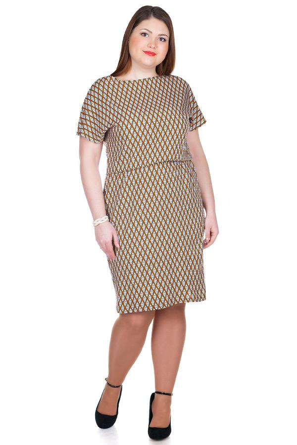Платье БР Штапель принт