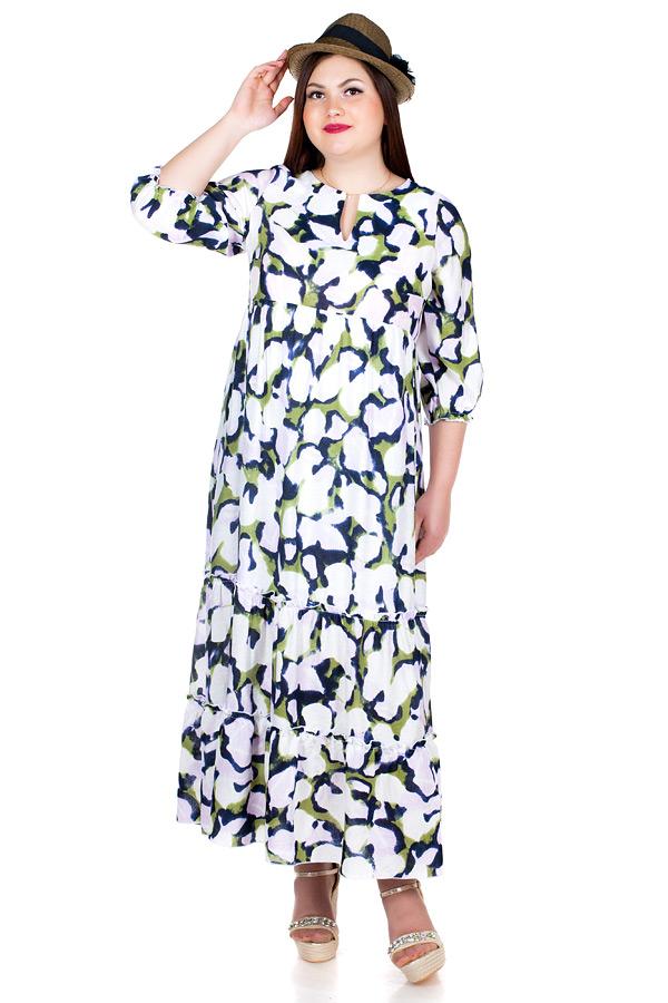 Платье БР Meryl Разводы зеленые