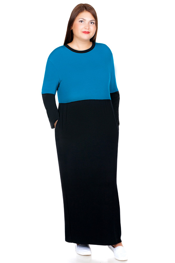 Платье БР Ilona Темная бирюза