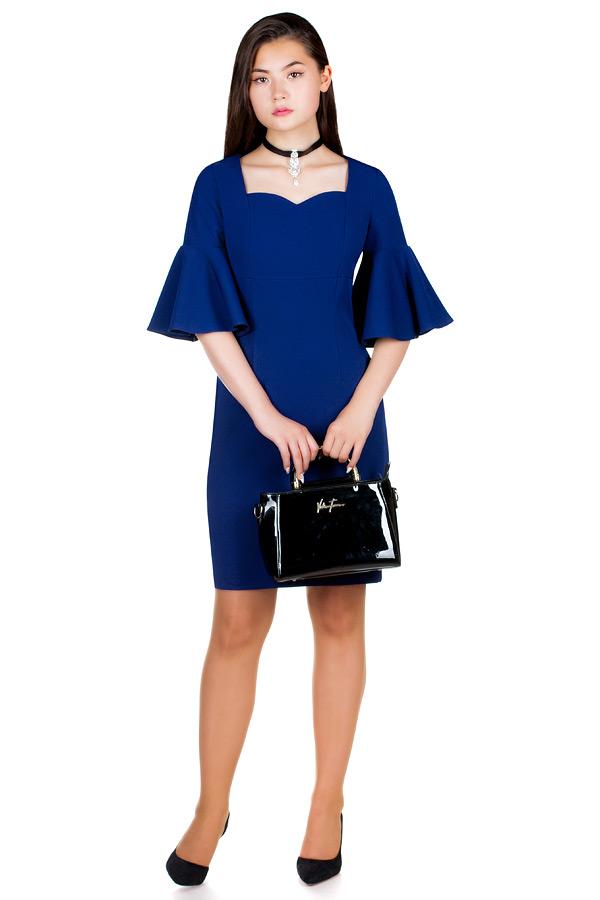 Платье МР Paolina Темно-синий