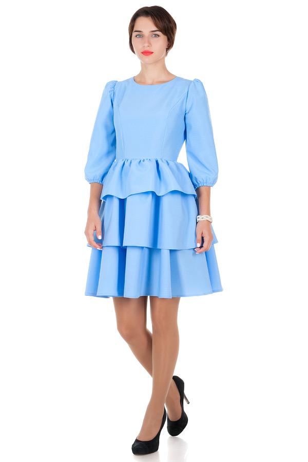 Платье Britney Голубой
