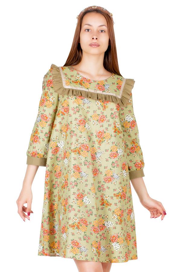 Платье МР Aleit Хаки