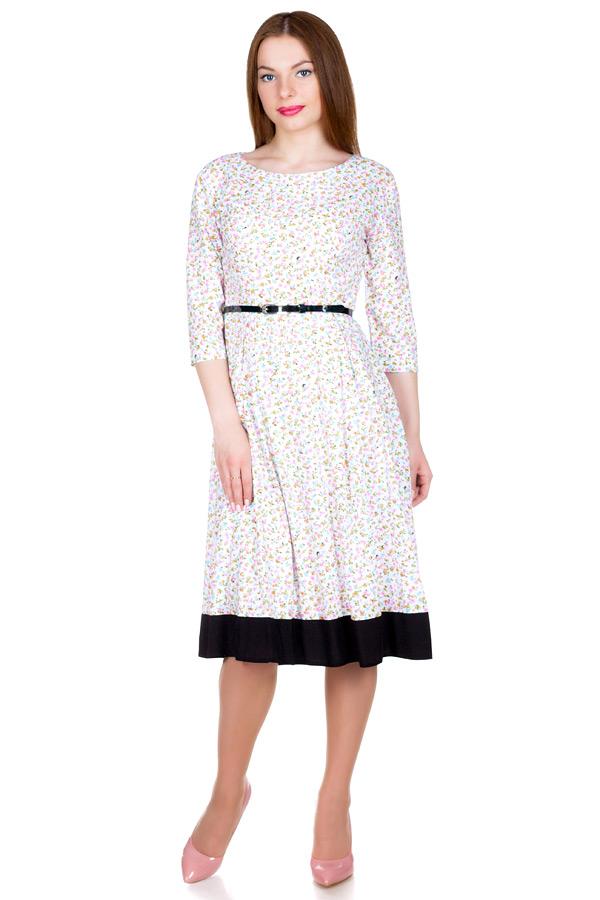 Платье МР Donkey Белый+Черный