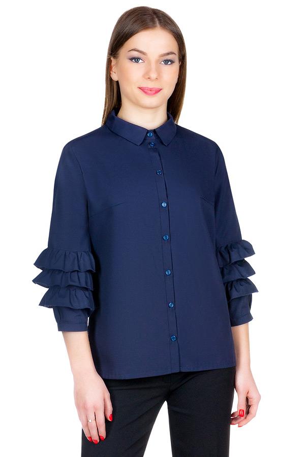 Блуза МР Tesia Темно-синий