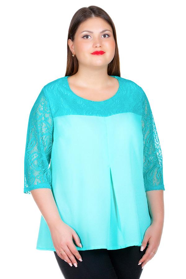 Блуза БР Seraphima Мята
