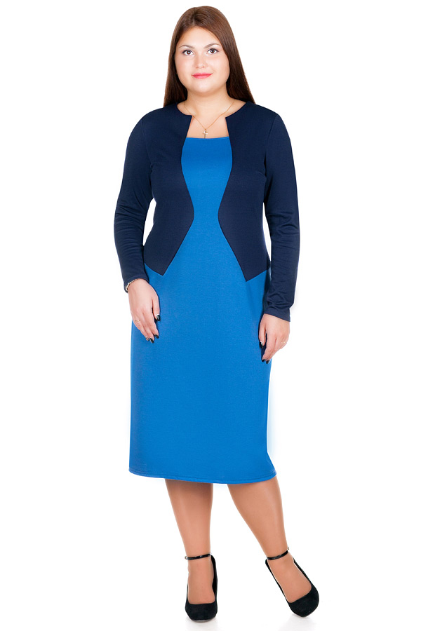 Платье БР Romola Темно-синий
