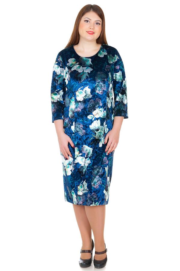 Платье БР Scarlet Темно-синий
