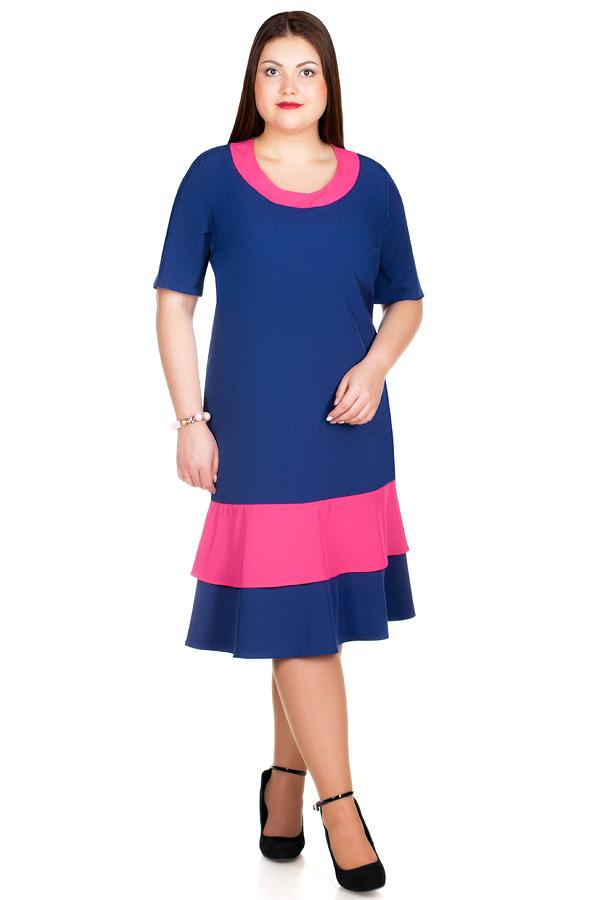Платье БР Arina Темно-синий