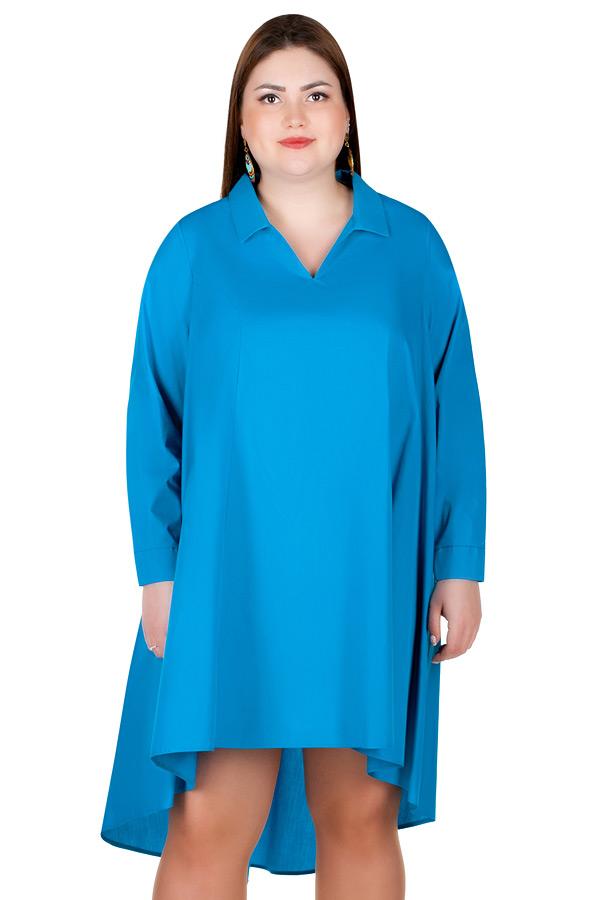 Платье БР Elektra Ярко-голубой