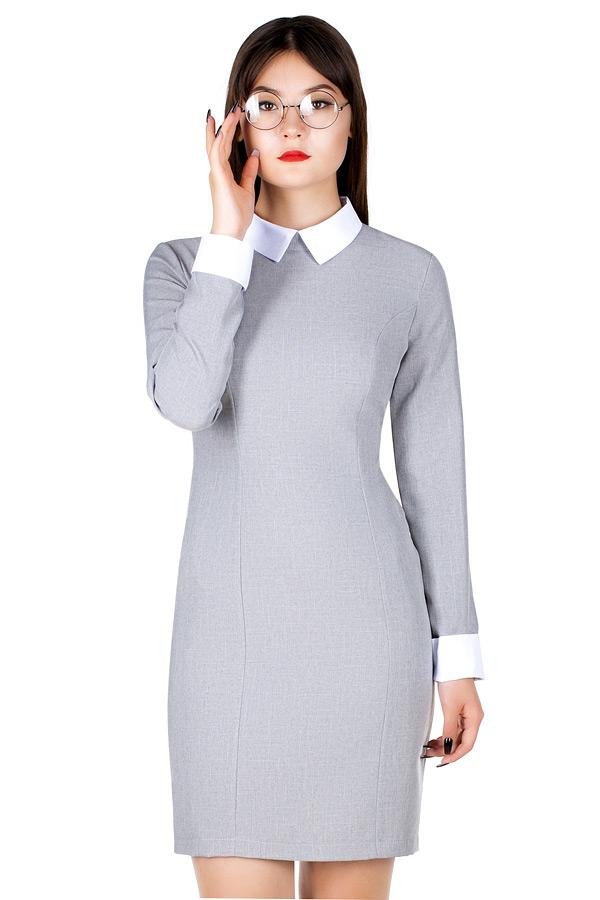 Платье МР Maid Светло-серый