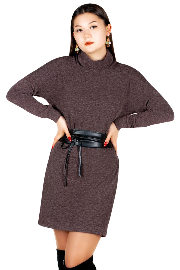 Платье МР Merron Коричневый