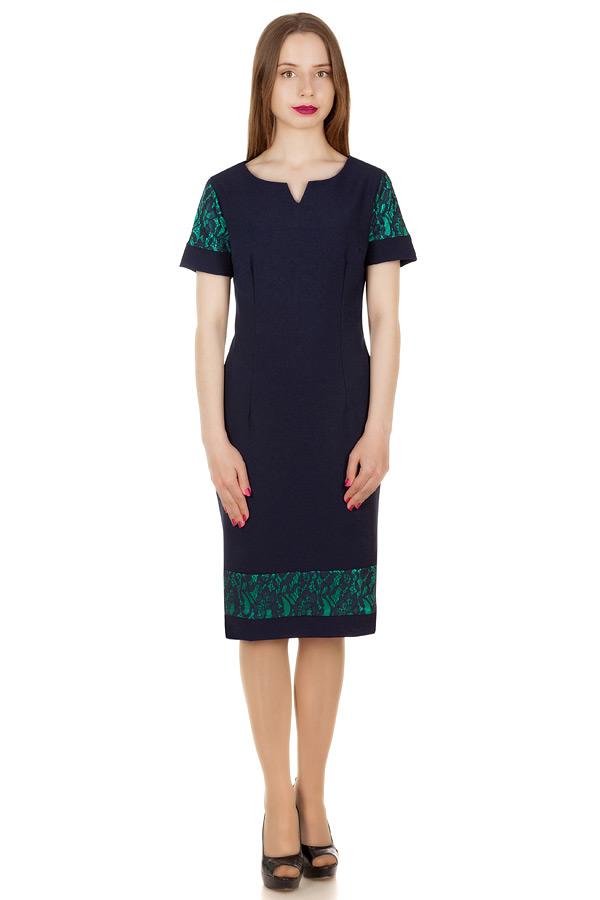 Платье Bridget Темно-синий