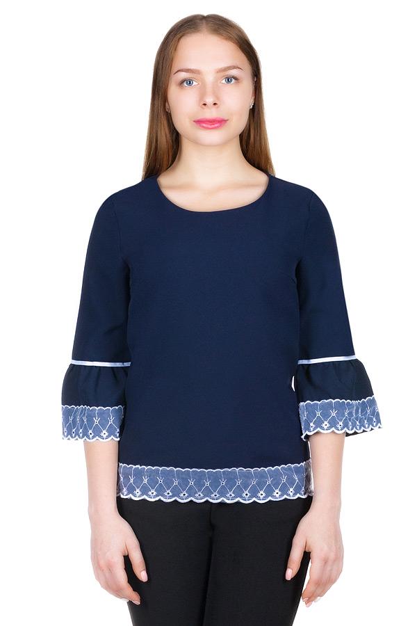 Блуза МР Honora Темно-синий