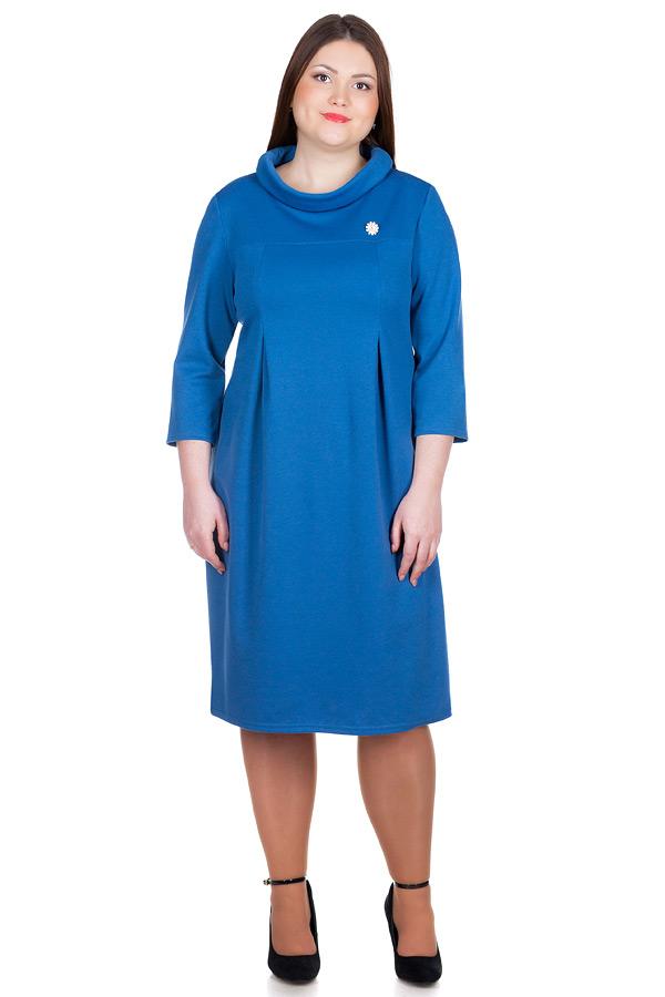 Платье БР Vesta Темно-голубой