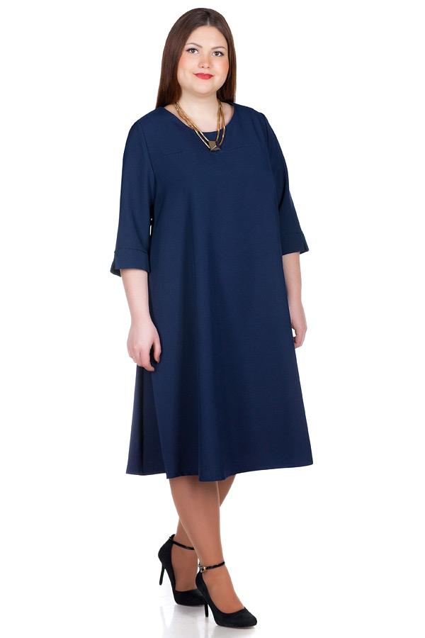 Платье БР Rocsana Темно-синий